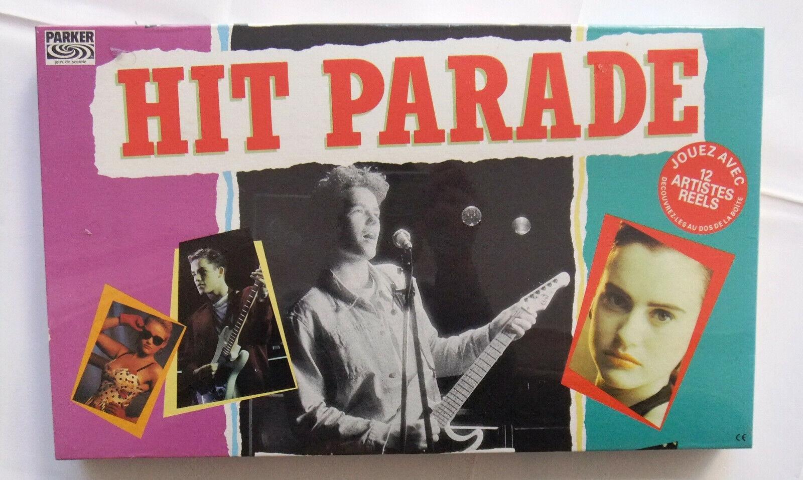 Hit Parade Parker Francia Boardgame Como Nuevo Sellado Nuevo Viejo Stock 1988