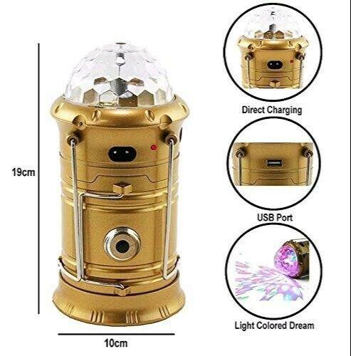 Multi Functional Solar Camping Lantern