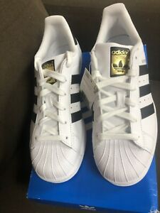 adidas superstar junior black and white size 5