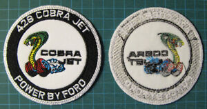 428-CJ-COBRA-JET-EMBROIDERED-PATCH-PATCHE-DRAG-RACING-FORD-MUSTANG-SHELBY