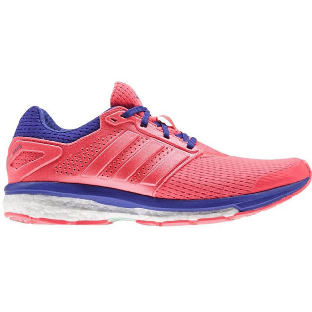 outlet store 89584 0cbc1 Adidas Supernova Glide 7 W Running Shoes Jogging Fitness Trainers Women  Pink New