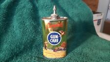 Complete Gun Care Gold Toned Oil Tin Can Handy Oiler Gas Sign Bottle Shell Box