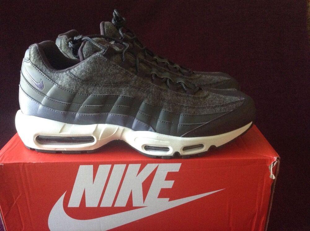 Mens Nike Air Max 95 PRM Wool Sequoia 538416-300  Chaussures de sport pour hommes et femmes