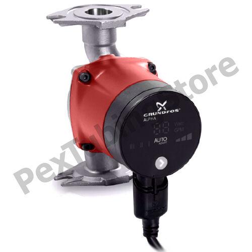 99163972 Grundfos Alpha2 15-55SF//LC Stainless Steel Circulator Pump 1//16HP