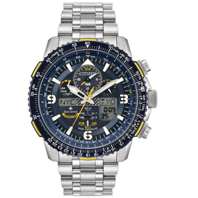 Citizen Men's JY8078-52L Blue Angels Promaster Skyhawk A-T Eco-Drive Watch