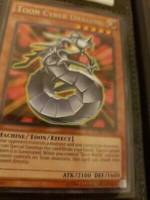 Yugioh Toon Cyber Dragon CORE-EN043 Rare 1st Edition