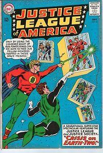 Justice League of America #22 DC Comics 1963 1st JLA/JSA Team Up Part 2 VG