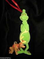 Department 56 Grinchsneaky Grinch With Max Christmas Ornamentnwot