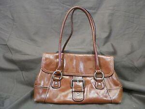 Image Is Loading Giani Bernini Purse Tote Shoulder Bag Handbag Brown