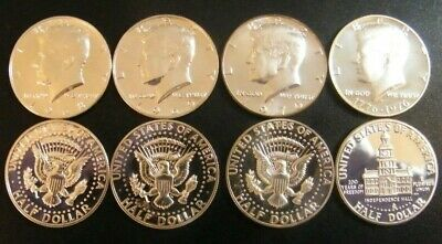1968 ~ 1979 PROOF Kennedy Half Dollars 11 Coins from US Proof Sets 3-40/% Silver