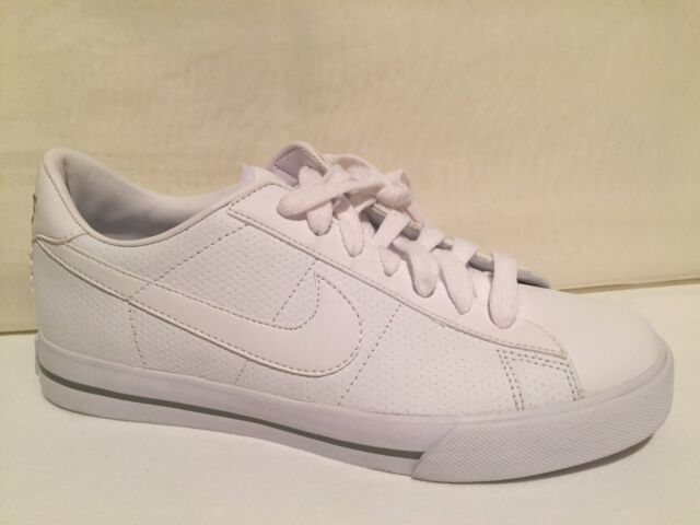 5b17b20e5193d6 NIKE 354496-110 Sweet Classic Women s Casual Shoe White Leather Womens SZ  8.5