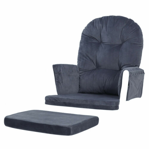 Glider Rocker Replacement Cushions Velvet Washable For Chair /& Ottoman Brand New