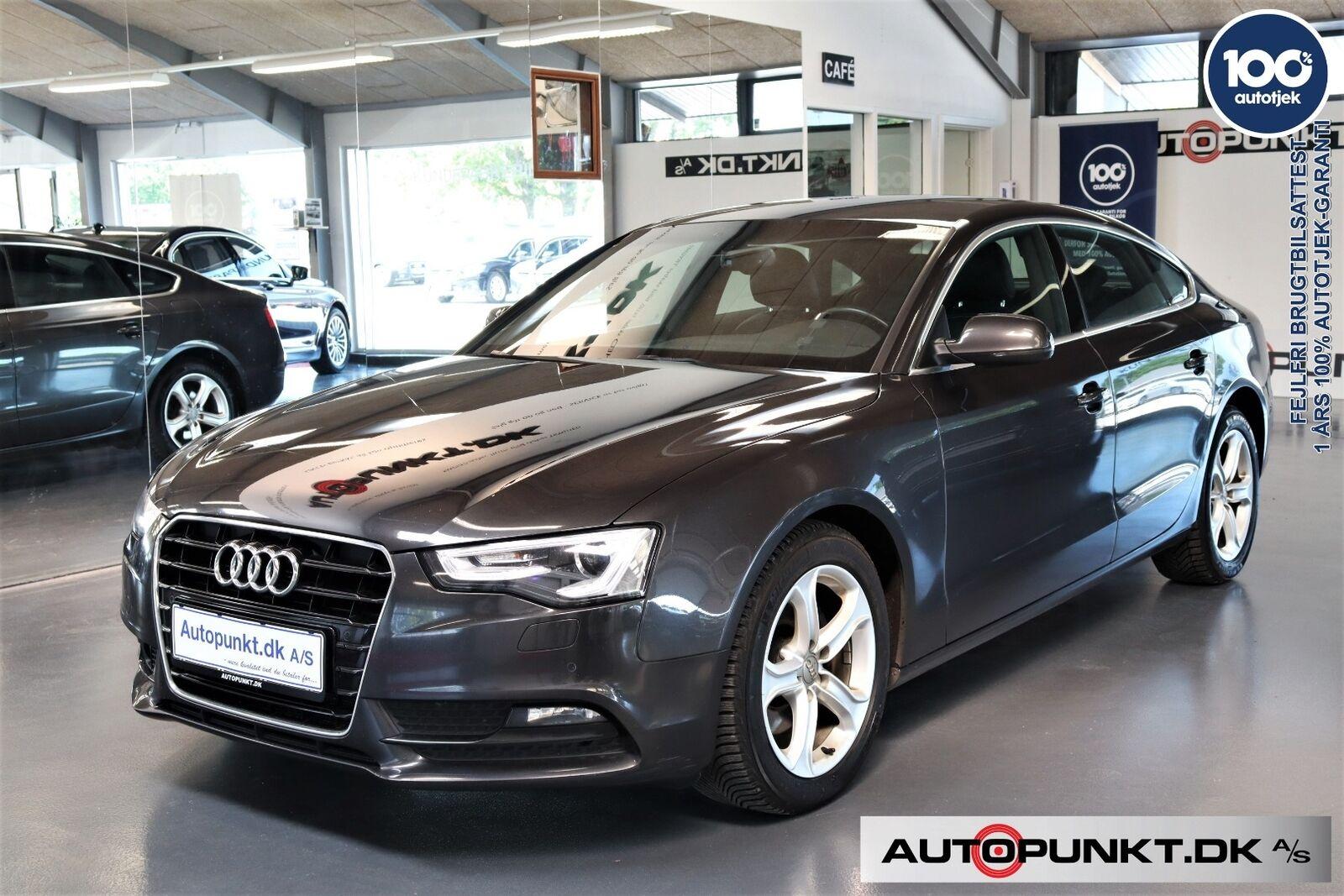 Audi A5 2,0 TDi 190 SB Multitr. 5d - 289.700 kr.