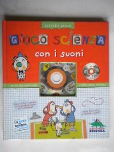 Gioco-scienza-con-i-suoni-Chavigny-Ruillier-Libro-CD-bambini-illustrato-ottimo