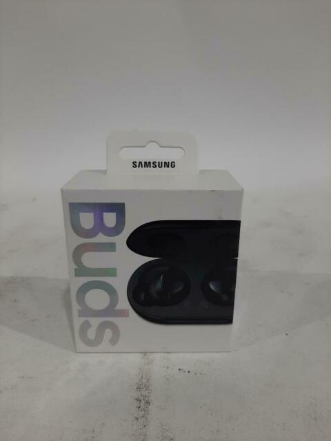 Samsung Galaxy Buds , Bluetooth Earbuds with Wireless charging Case, Black- Used