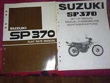REVUE MOTO TECHNIQUE MANUEL SUZUKI SP 370  MANUAL