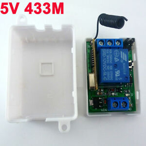 DC-5V-433MHz-Wireless-RF-Relay-Control-Switch-On-off-Switch-Delay-Time-Timer