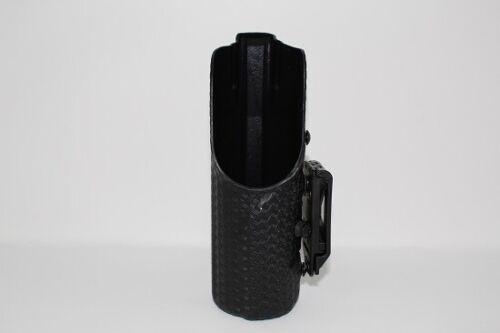 Safariland 36-8-482 Black Basketweave LH Open Top MK-9 Series OC Spray Holder