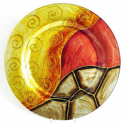Teller Glas Deko Schale Acamar (953349) NEU Glasschale Glasteller