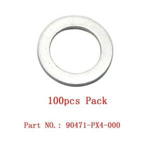100Pc 18mm Trans Drain Plug Crush Washer Gaskets  90471-px4-000 for Honda Acura