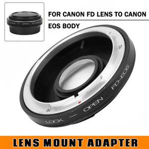 FD-EOS-Mount-Adapter-For-Canon-FD-Lens-to-Canon-EOS-EF-Glass-Focus-Infinity-Cap