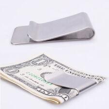 Slim-Clip Money Clip Pocket Cash ID Credit Card Holder - No More Bulky Wallets