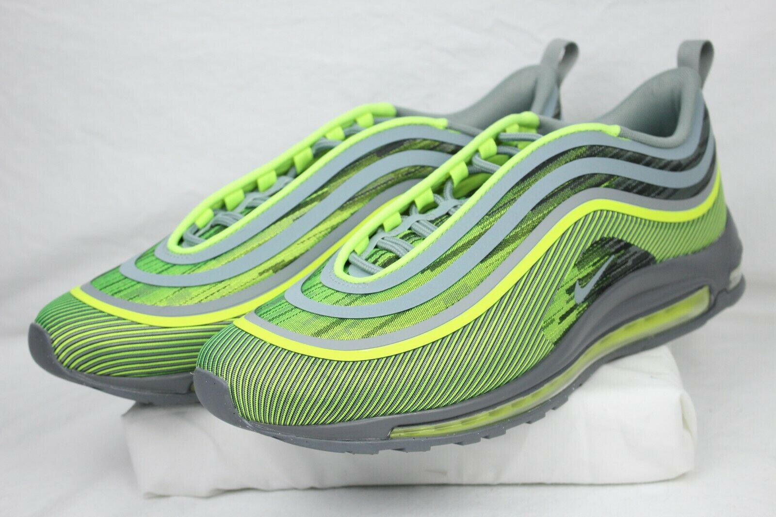 NEW AUTHENTIC NIKE Air Max 97 Ultra '17 Volt And Mica Green 918356 701 Sz 9 Rare