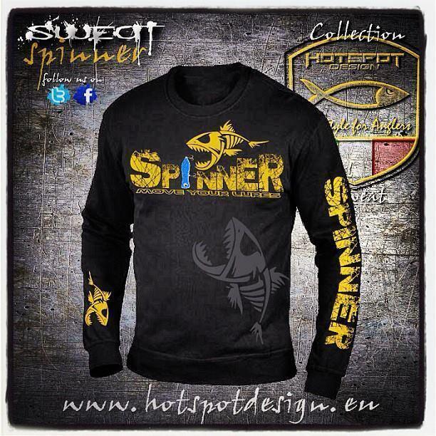 Hotspot Design Angler Sweater Spinner für den  passionierten Spinnangler   quick answers