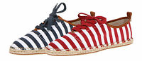 Michael Kors Womens Del Rey Oxford Red Or Navy Blue Casual Canvas Lace-up Shoes