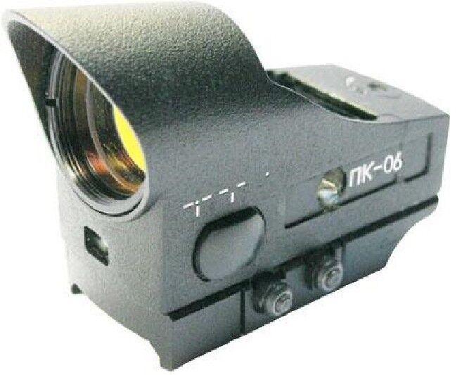 Belomo PK-06W Ultra rojo dot scope Montaje Weaver Picatinny Rusia Colimador De Vista