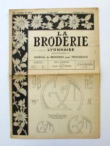 La Broderie Lyonnaise N°1144 - 1957 - Broderies Pour Trousseaux - Alphabet - U1be5eam-07155434-584593632
