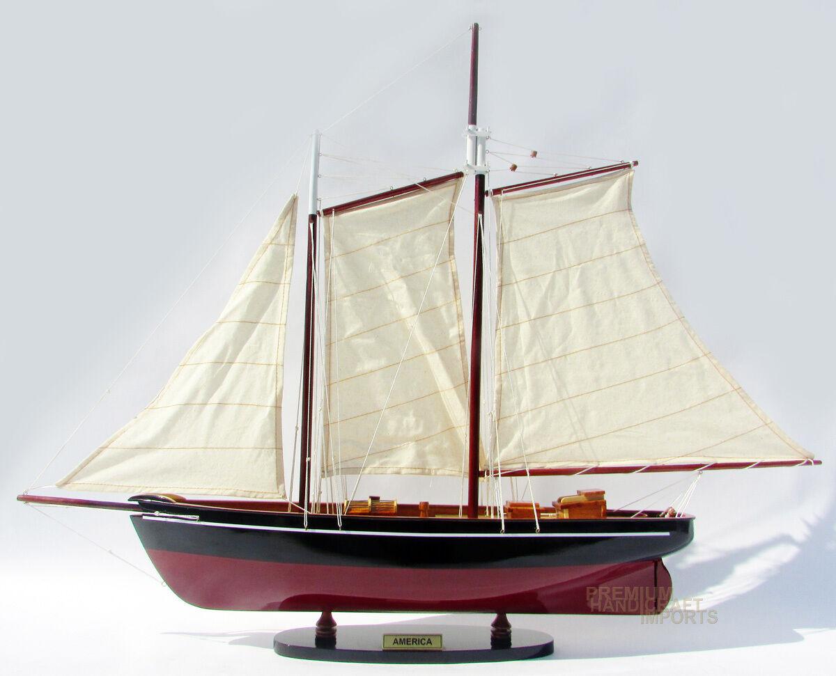 Handgjord America modellllerler båt 32