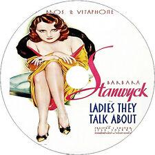 Ladies They Talk About 1933 Barbara Stanwyck Preston Foster V Rare Dvd