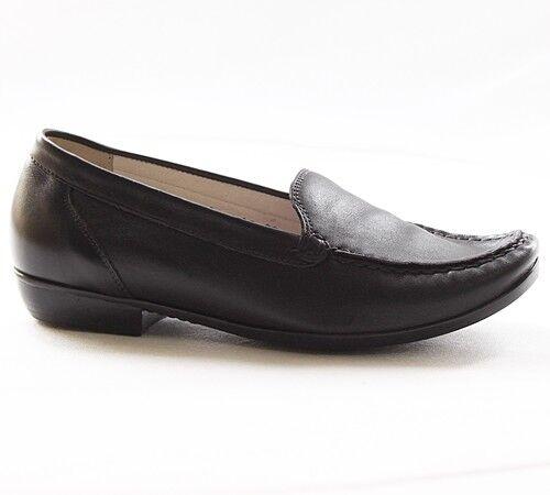 presa di marca Foresta alfiere Jilani Donna Scarpe Pelle Nero Nero Nero 437502-186-001  una marca di lusso