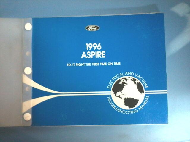1996 Aspire Elecrical Vacuum Troubleshooting Manual  Wiring
