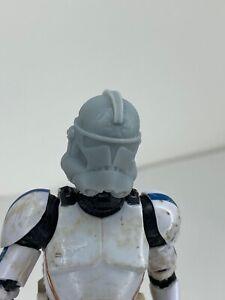 """Custom Star Wars Clone Trooper Phase 2 With Visor Helmet Black Series 6"""" 1//12"""