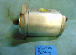 MARZOCCHI GEAR PUMP, ALP2A-D-50-S1, 104750012, 2500 RPM, 2030 PSI MAX, SPLINED