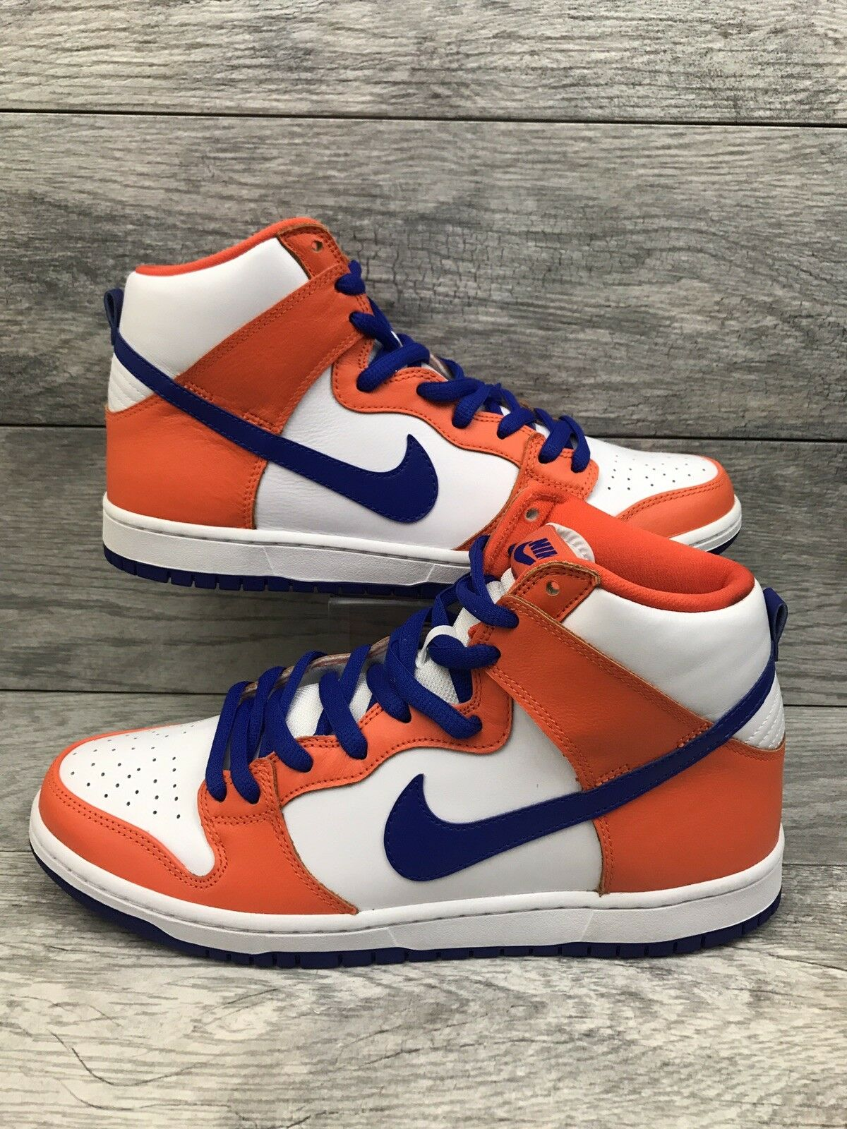 Nike SB Dunk High TRD QS Mens Size 11 orange White bluee Danny Supa AH0471-841