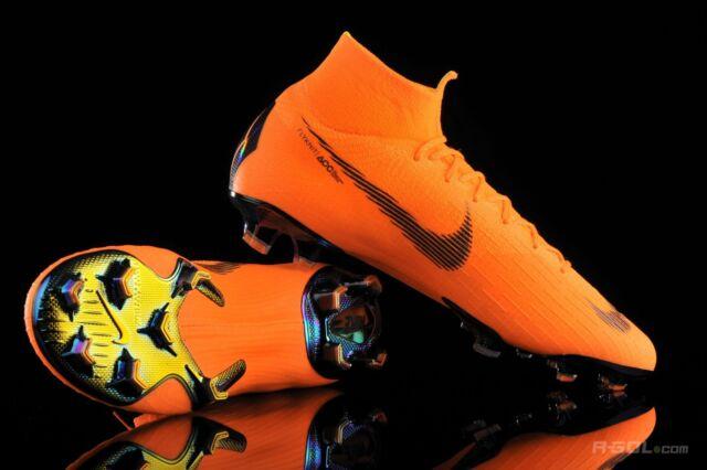 best sneakers cb16b 7df08 Nike Mercurial Superfly 6 VI Elite FG 360 Orange Soccer Cleats Ah7365 810  Sz 6