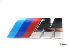 BMW NEW GENUINE E39 M5 M LABEL STICKER BADGE EMBLEM CHROME 2694404