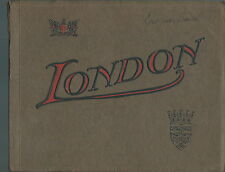 NE-009 - London, The Heart of the Empire, Picture Book 1900's Valentine & Sons
