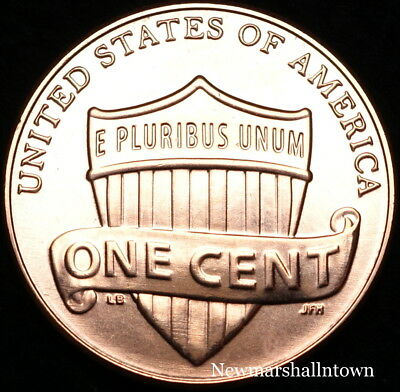 2018 D Lincoln Shield Cent ~ Uncirculated U.S Mint Coin from Bank Roll