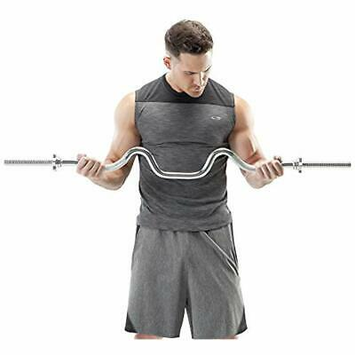 NEW York Barbell 7/' Bar for 1-inch plates Solid Construction