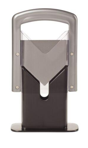 Silver Lifetime Brands 5087464 Hoan Bagel Guillotine Slicer