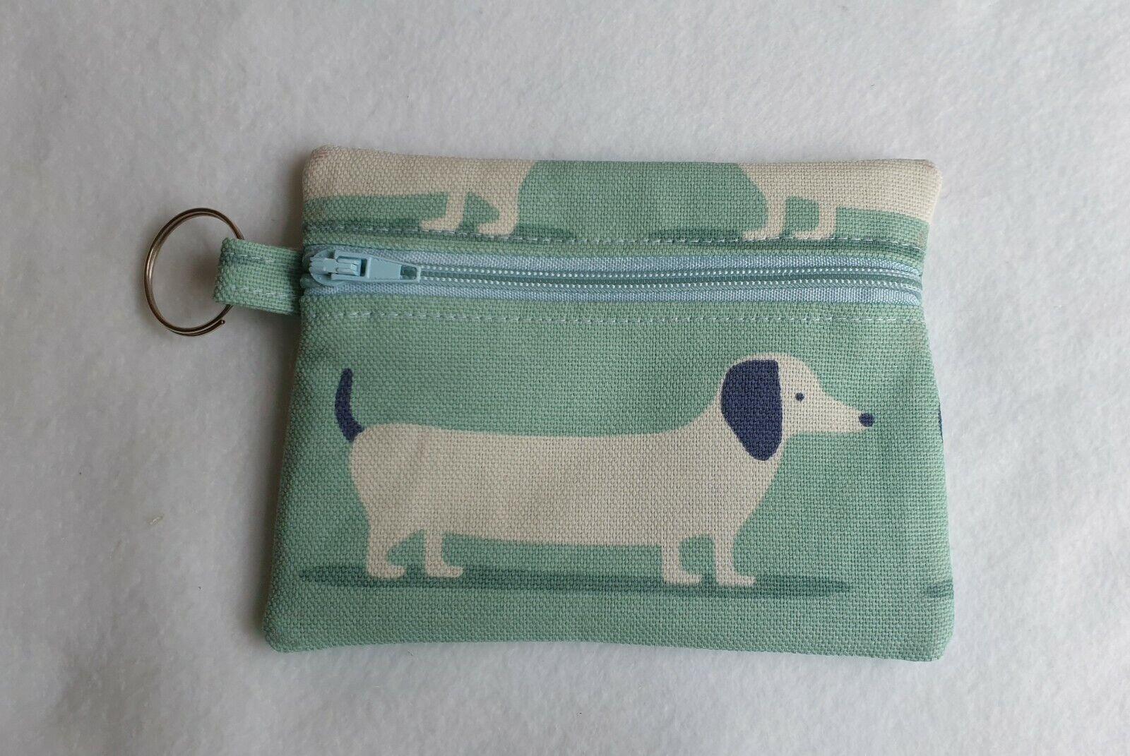 Sausage Dog Discrete modesty purse pouch Sanitary Case Bag Holder Pads Cards