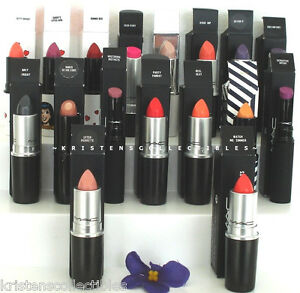 Image is loading MAC-COSMETICS-LIPSTICK-DISCONTINUED -LIMITED-EDITION-RARE-AUTHENTIC-