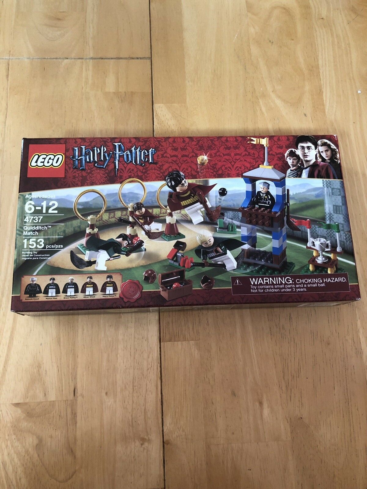 Lego 4737 Harry Potter Quidditch Match Madame Hooch ** Sealed Box **