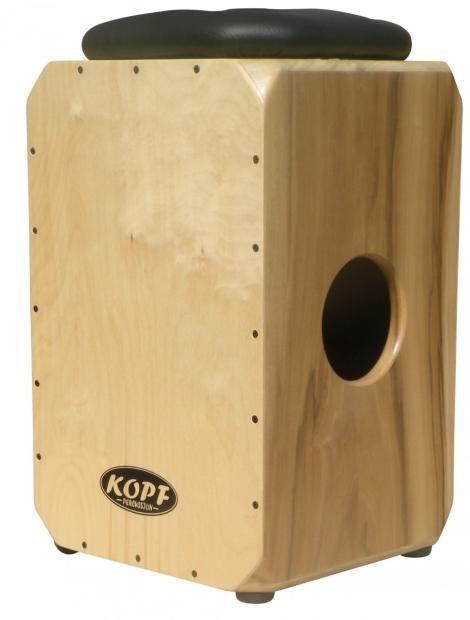 Kopf Percussion DoubleShot Cajon Professional Box Drum Made In USA