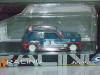 SOLIDO RENAULT 5 maxi  turbo  rallye  tour de corse  1985 ech  1/43 neuf  métal