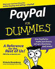 PayPal For Dummies by Victoria Rosenborg (Paperback, 2005)